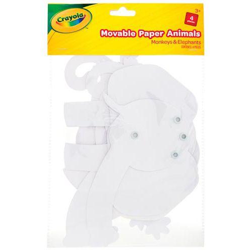 Crayola Movable Shapes Elephant & Monkey