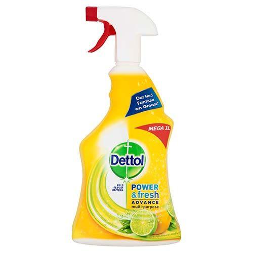 Dettol Power & Fresh Spray Citrus 1l