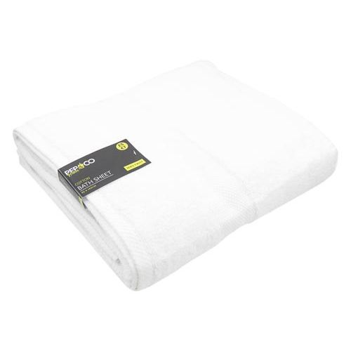 Bath Sheet White 460gsm 90x140cm