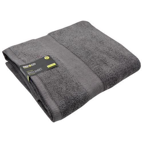 Bath Sheet Grey 460gsm 90x140cm