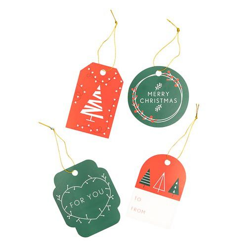 Christmas Gift Tags 40 Pack