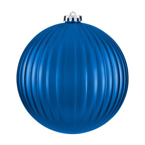 XL Matt Blue Bauble