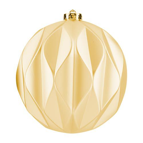 XL Matt Gold Bauble