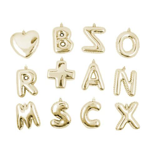 Personalised Letter Decoration