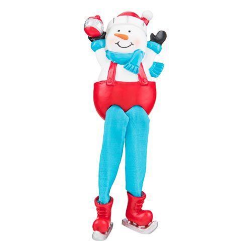 Christmas Snowman Leg Dangler