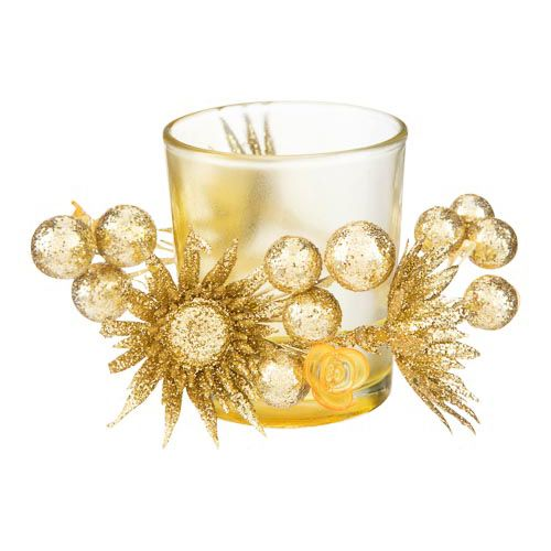 Gold Decorative Candle Holder