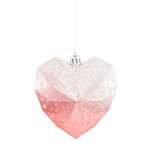 Heart Bauble 4 Pack