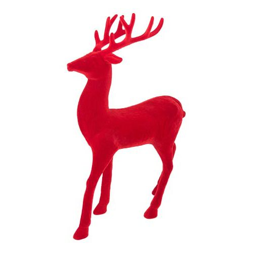Red Flocked Stag