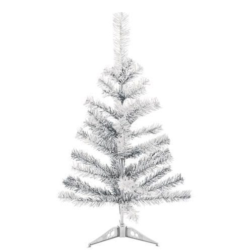 Silver Artificial Christmas Tree 2FT
