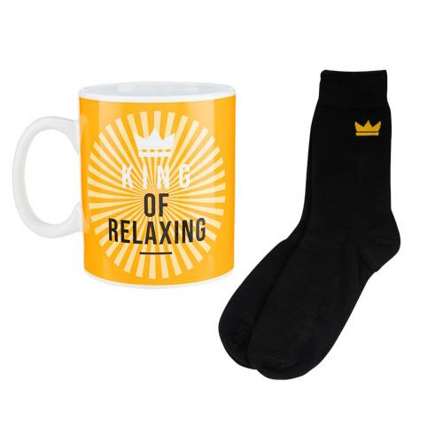 Xl Mug and Socks Set