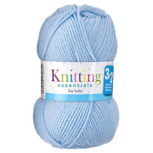 Double Knit Baby Yarn Blue 50g