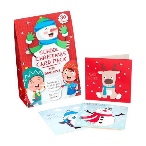 School Boxed Cards 30 Pack