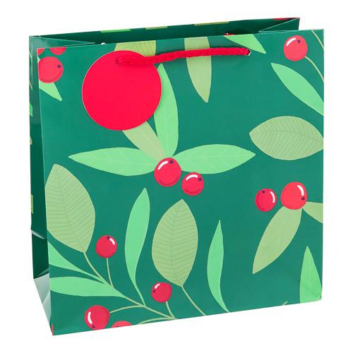 Small Holly Gift Bag
