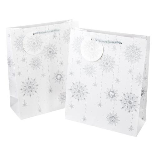 Medium Gift Bags Twinking Ice 2 Pack