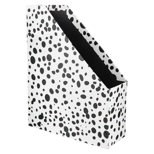 Mono Dalmatian printed Magazine File