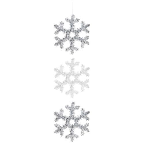 Tinsel 3 Drop Snowflake