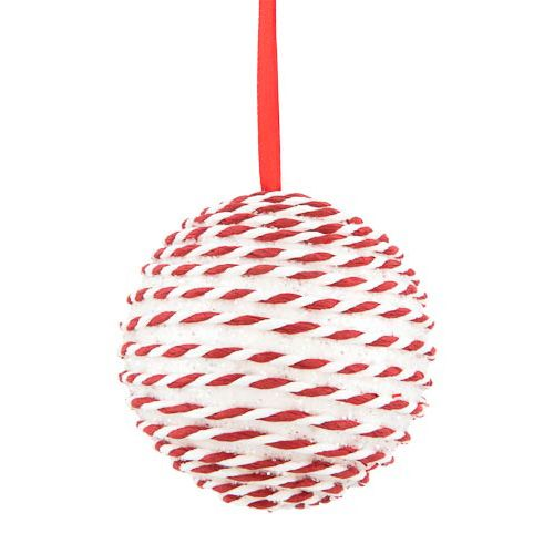 Single Dec Ball & Candy Cane