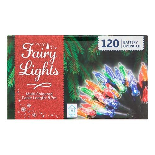 Fairy Lights Assorted 120 Pack