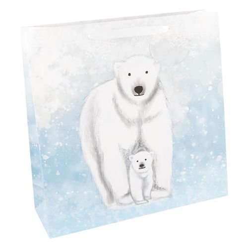 Luxury Polar Bear Gift Bag