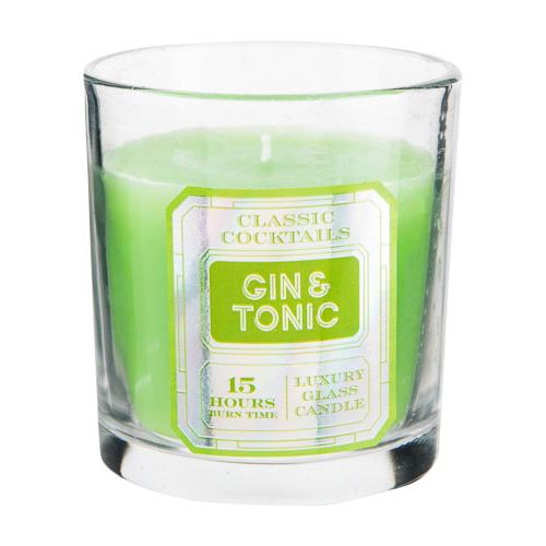 Gin & Tonic Cocktail Gift Candles