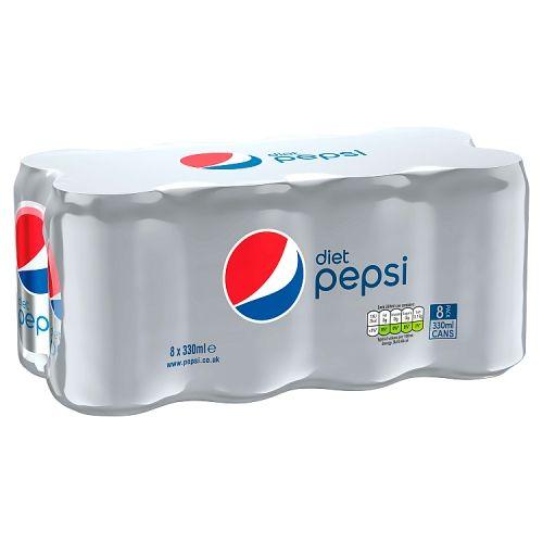 Pepsi Diet 8x330ml