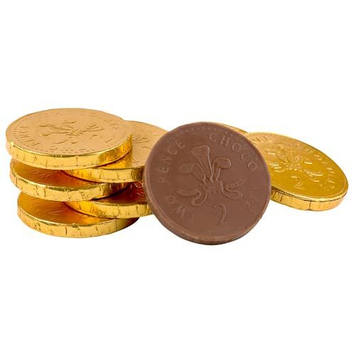 Milk Chocolate Gold Coins 130g