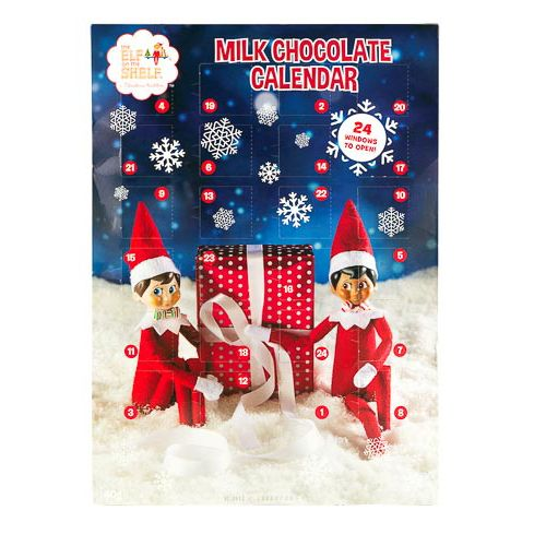Elf On the Shelf Advent Calender 40g