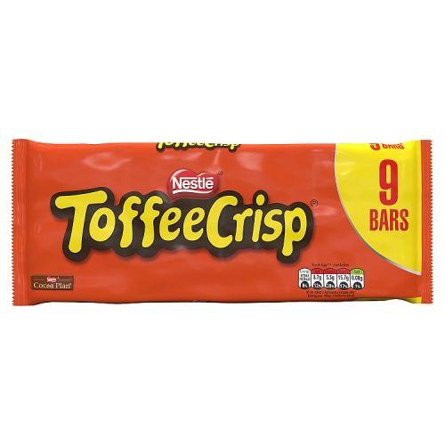 Nestle Toffee Crisp 9 Pack