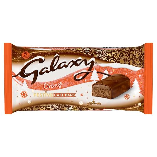 Galaxy Orange Cake Bar 5 Pack