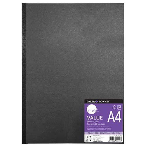 Daler-Rowney Simply A4 Hb Value Sketchbook