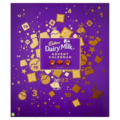 Cadbury Dairy Milk Chunks Advent Calendar 258g