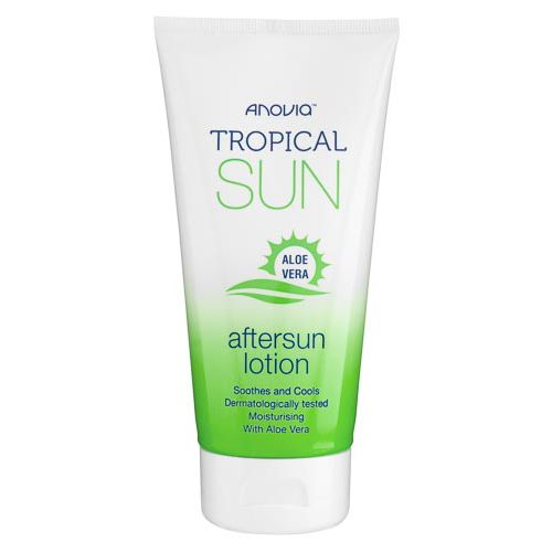TROPICAL SUN AFTERSUN GEL WITH ALOE 150ML