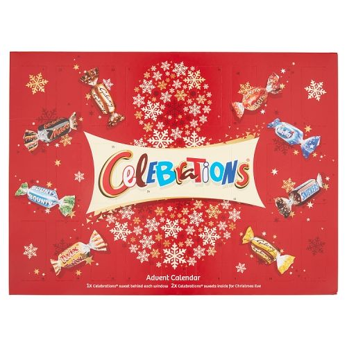 Mars Celebrations Advent Calendar 230g