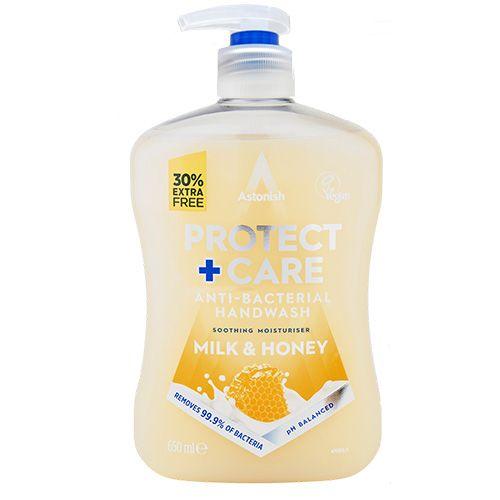 Protect & Care Antibac Handwash Milk & Honey 650ml