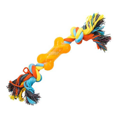 Pvc Toy With Rope