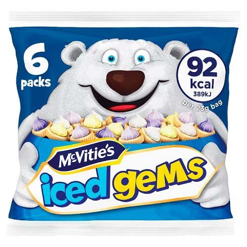 ICED GEMS MULTIBAGS 6PK