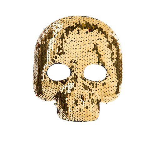 Sequin Half Face Mask