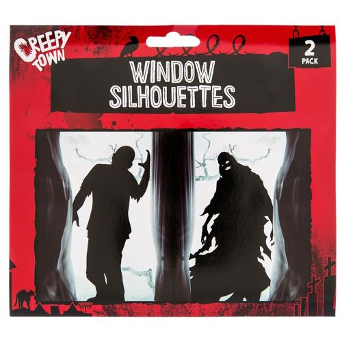 Window Silhouettes 2pk