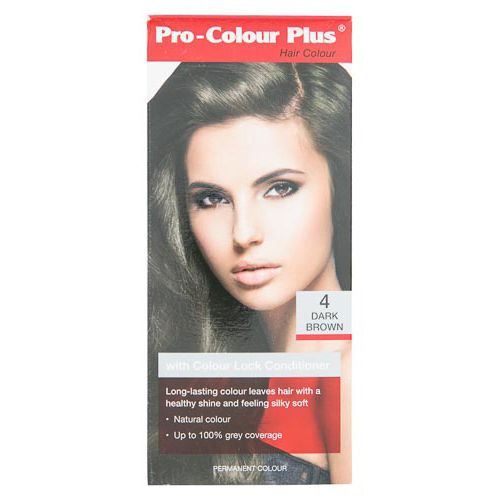PRO SALON HAIR COLOUR DARK BROWN