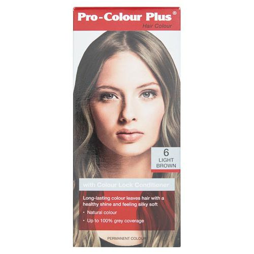 PRO COLOUR PLUS HAIR COLOUR LIGHT BROWN