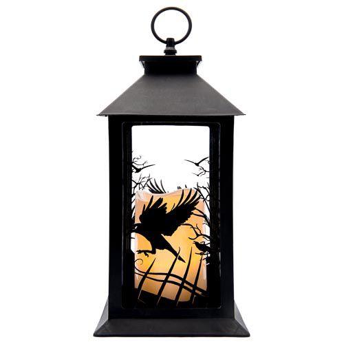 Led Lantern With Candle