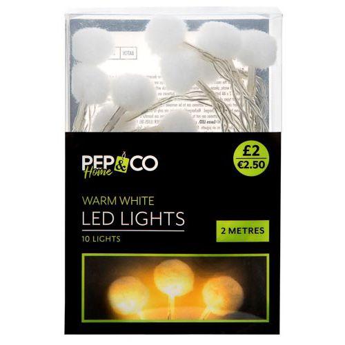 Led Lights Flower/pom Pom
