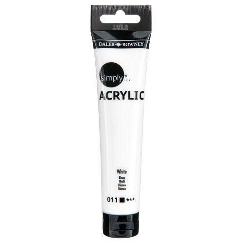 Simply Acrylic 75ml Sl White