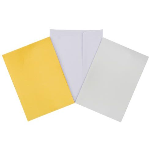 Cards & Envs Metallic 10pk