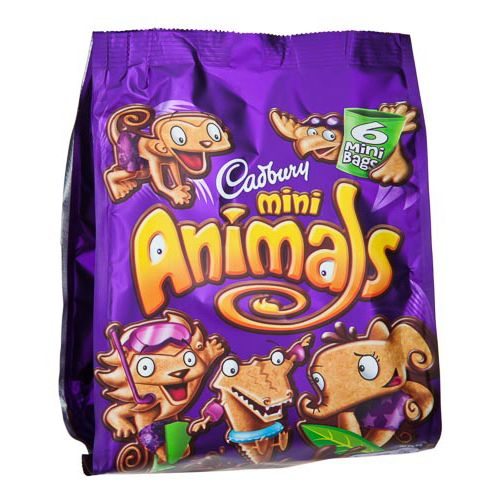 Cadbury Mini Animals 139.3g
