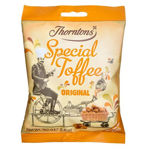 THORNTONS ORIGINAL TOFFEE BAG 160G
