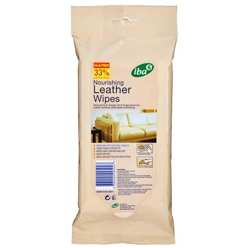 Bouchard Leather Wipe 32 Pack