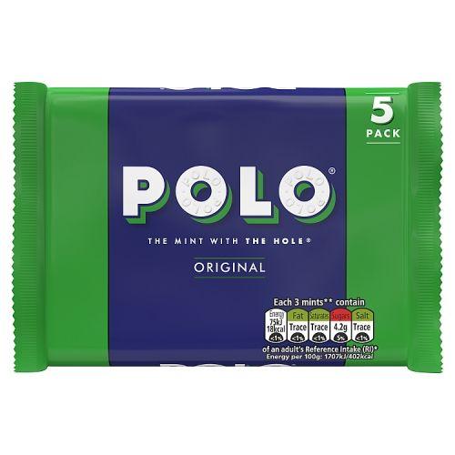 NESTLE POLO TUBE 5 PACK