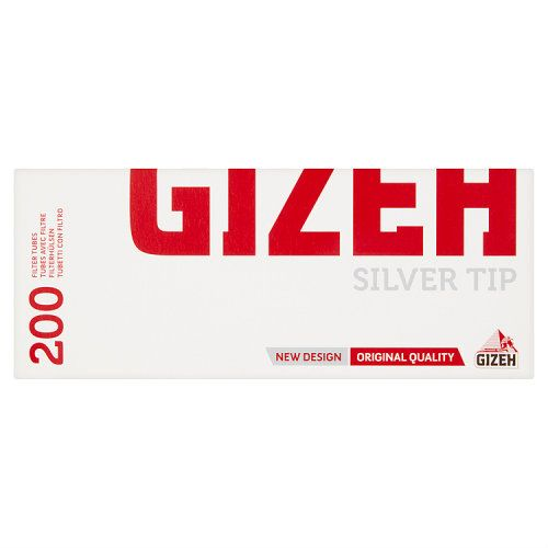 Gizeh Silver Tip Cigarette Tubes 200pk