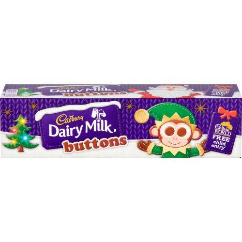 Cadbury Dairy Milk Buttons 72g